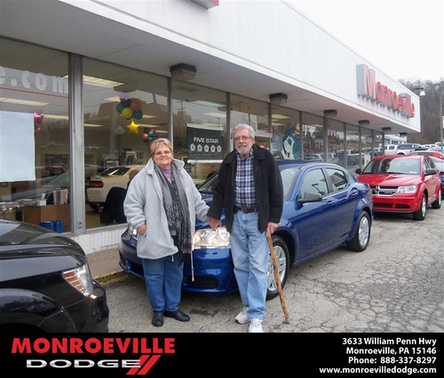 #HappyAnniversary to Thomas Leroy Mcdowell on your 2013 #Dodge #Avenger from Thomas  Haskins  and everyone at Monroeville Dodge! by Monroeville Dodge