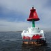 "Most piratical buoy in the bay - buoy ""Arrrrr!"", getting close to the Rockaway Peninsula (I'm now peeling off from my original plan)."