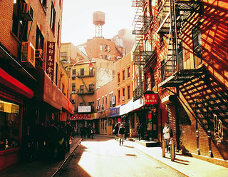New York City - Doyers Street - Chinatown