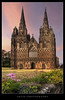 The West Front of Lichfield Cathedral, Staffordshire, England :: HDR by :: Artie | Photography ::
