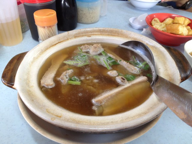 Hing Kee Bak Kut Teh - Soup with Pork Rib