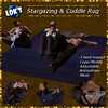Lok's Arabian Nights Stargazing and Cuddle Rug