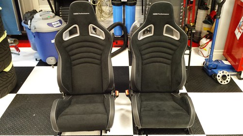 Almost New Bmw Performance Seats