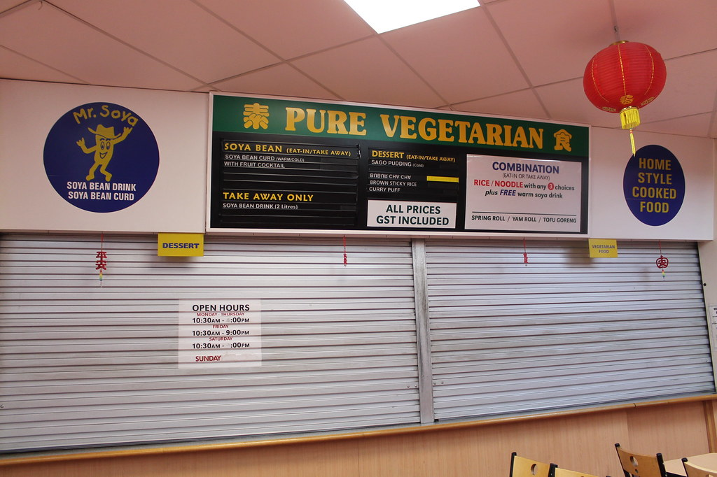 Pure vegetarian chinatown adelaide