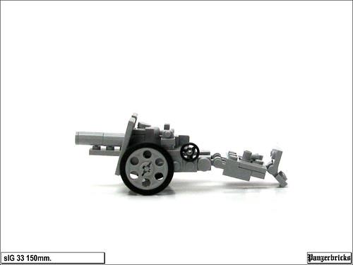 sIG 33 de 150mm. de Panzerbricks