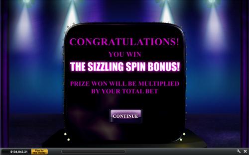 free Chippendales bonus game