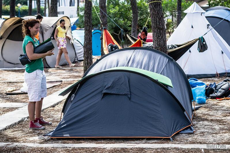 Campeggio a Vila Nova de Milfontes