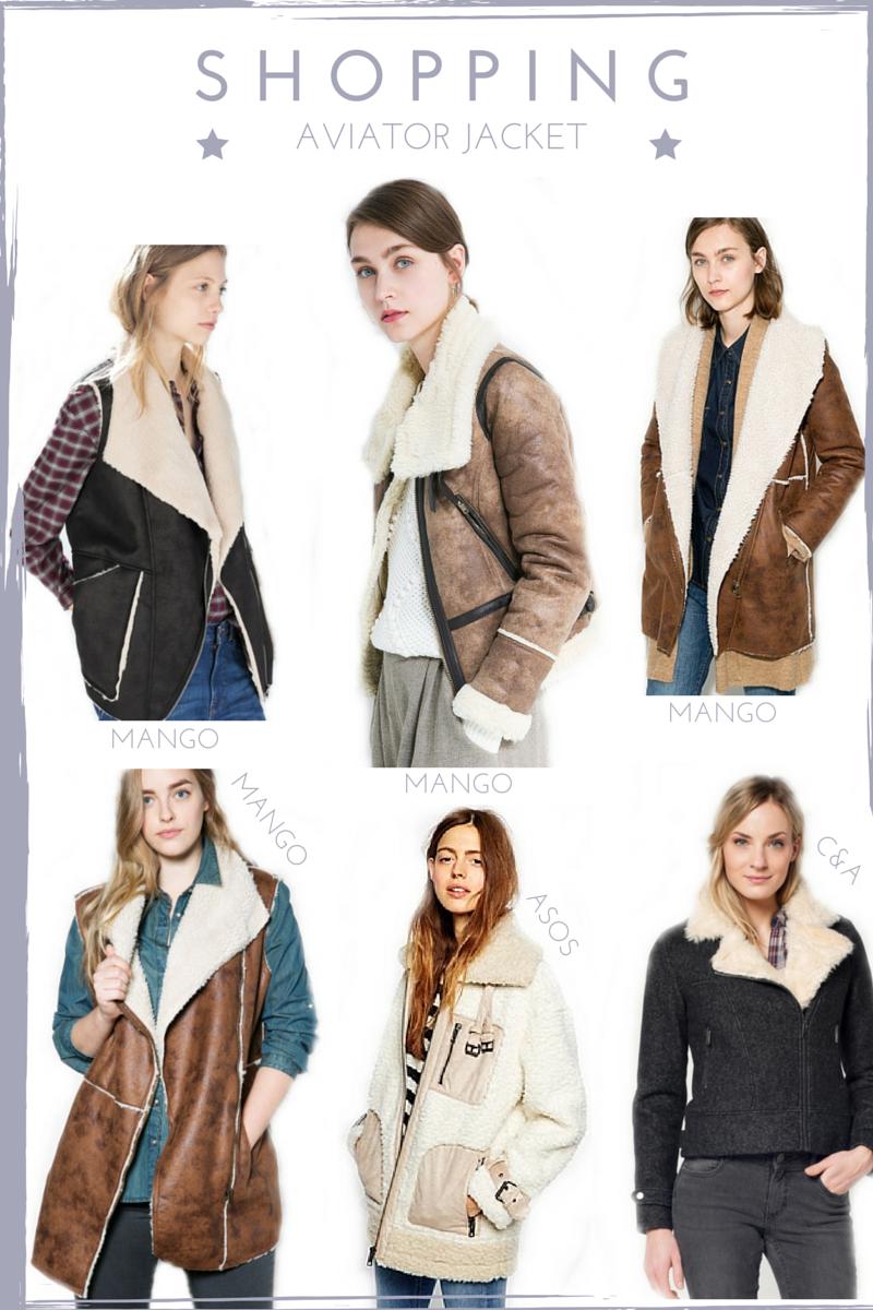 shopping aviator jacket