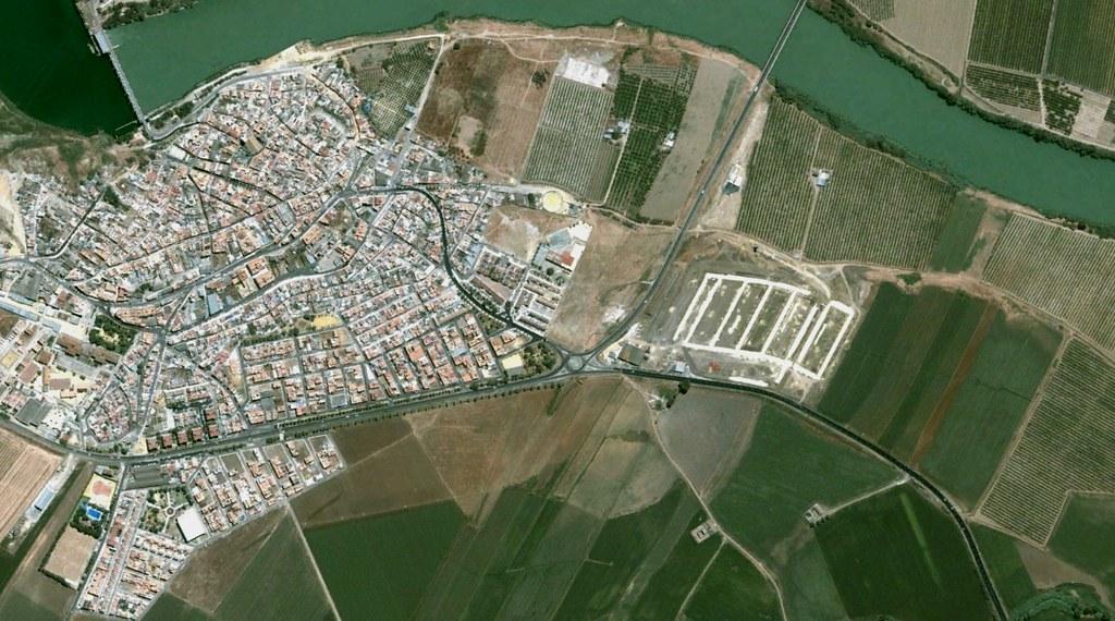 alcalá del río, sevilla, al calar la barca, antes, urbanismo, planeamiento, urbano, desastre, urbanístico, construcción