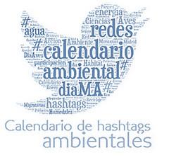 Calendario Ambiental Hashtag Twitter