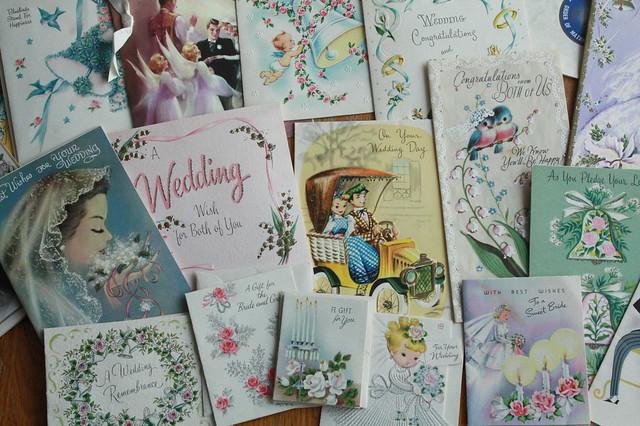 Wedding Cards: 1958