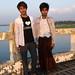 Burmese teens by Dan Hewins