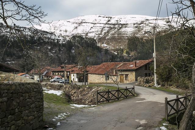 Barcenillas, ruta cascadas de Lamiña
