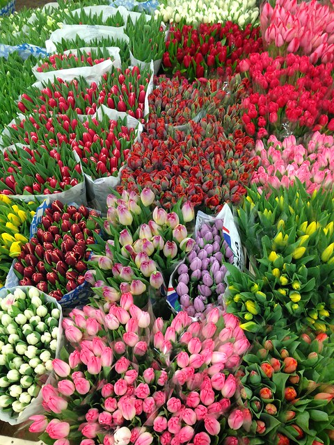 Buying Flowers at New Covent Garden Flower Market at Nine