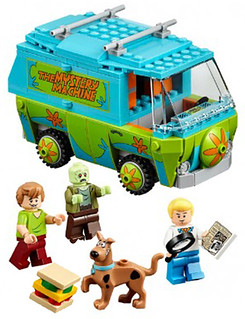LEGO Scooby-Doo 叔比狗系列盒裝