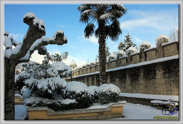 4 Primera nevada en Briviesca 2015