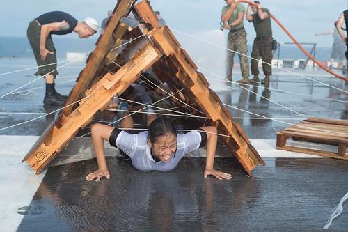 USS Makin Island inducts new shellbacks
