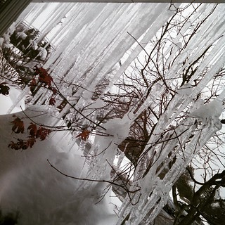 Got Icicles? #newengland #newhampshire #winterwontend #ice #icicles #603 #IceIceBaby #winterwonderland #winter