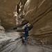 Exploring a Slot Canyon by Jeffrey Sullivan