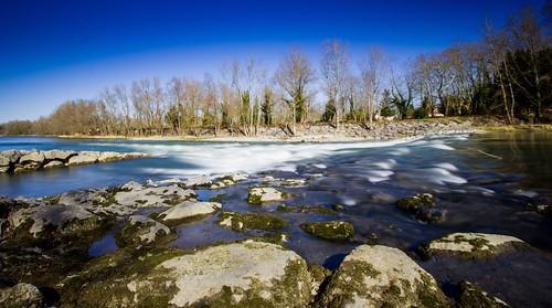 Rivière filée