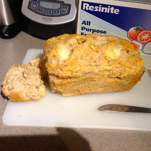 Swiss Cheese Beer Bread