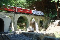 Železnice Malá Albula v Chlumci nad Cidlinou.