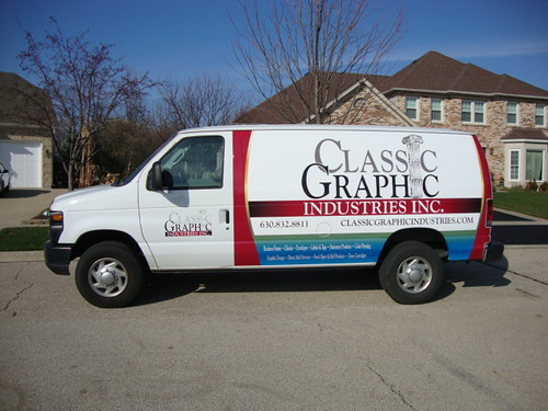 Classic Graphic Vehicle Wrap