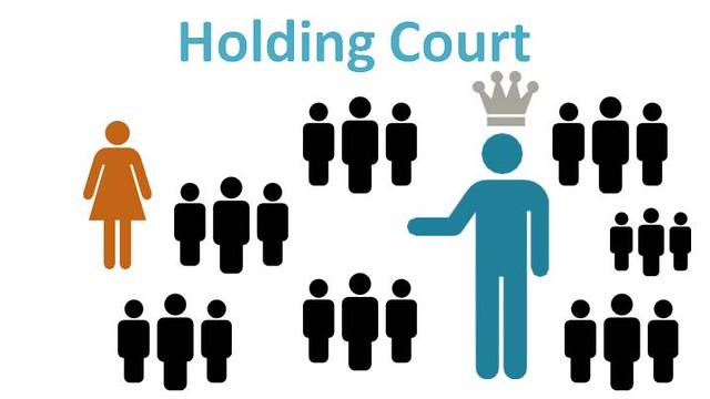 Blog, Holding Court
