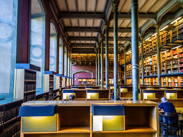 Royal national library of Sweden, Stockholm