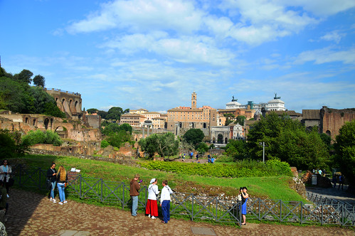 Foro Romano - From The Arch Of Titus