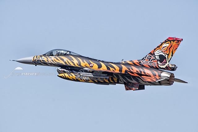 Tiger Meet 2016: F-16C/D Block 50 Fighting Falcon 192 nci Filo Turkish Air Force