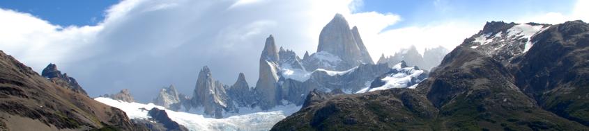 Komfort-Trekking Patagonien, Fitz-Roy-Gruppe. Foto: Günther Härter.