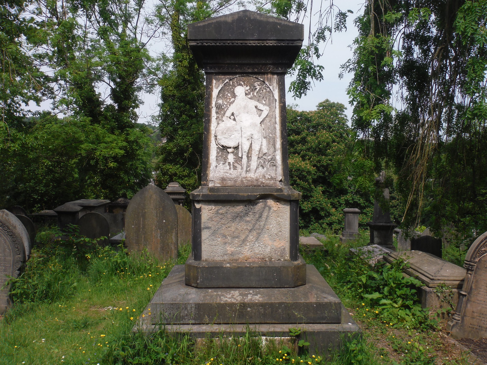 Sheffield General Cemetery, George Bennet Grave SWC Walk 267 - Sheffield Circular (via Porter, Limb, Sheaf and Gleadless Valleys)