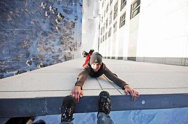 roofer, extreme, sport