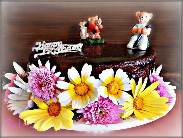 SPRING-BIRTHDAY CAKE