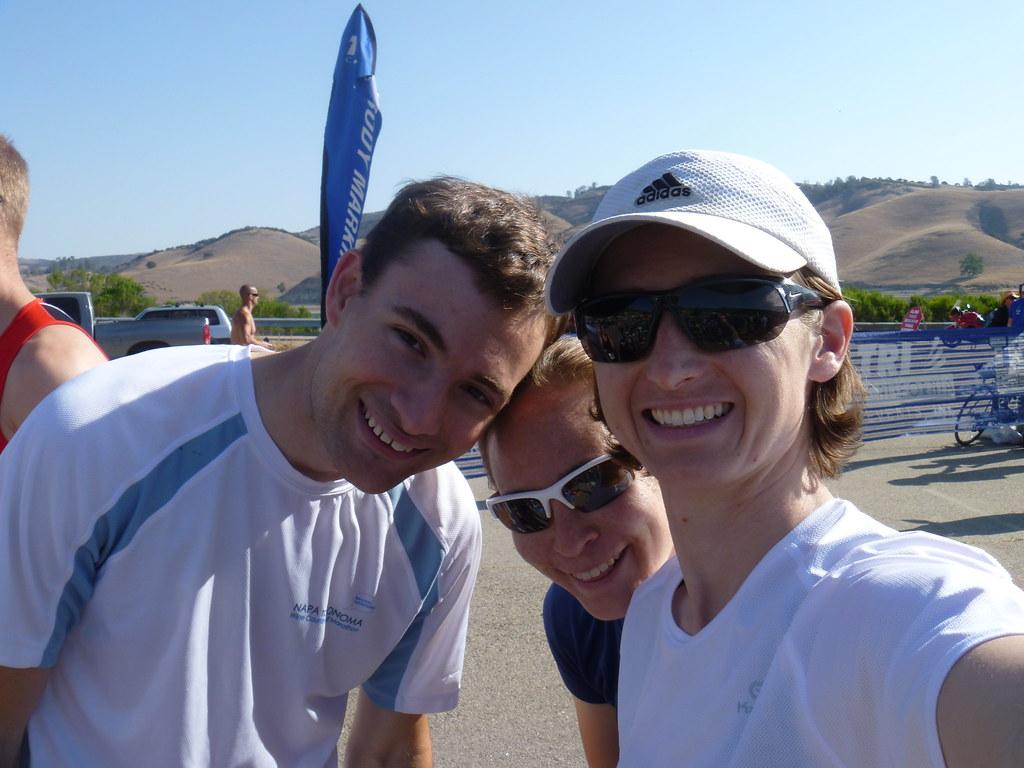 pre-race smiles | Wildflower Triathlon 2013