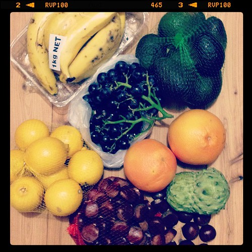 #fmsphotoaday 1 | #B is for bargain - all this for less than $18 at fruit shop in Campsie, inc whole bag of avos for only 2.50 (I see vegan Choc ice cream in my future) also, roasting chestnuts shortly... #crazysaturdaynight