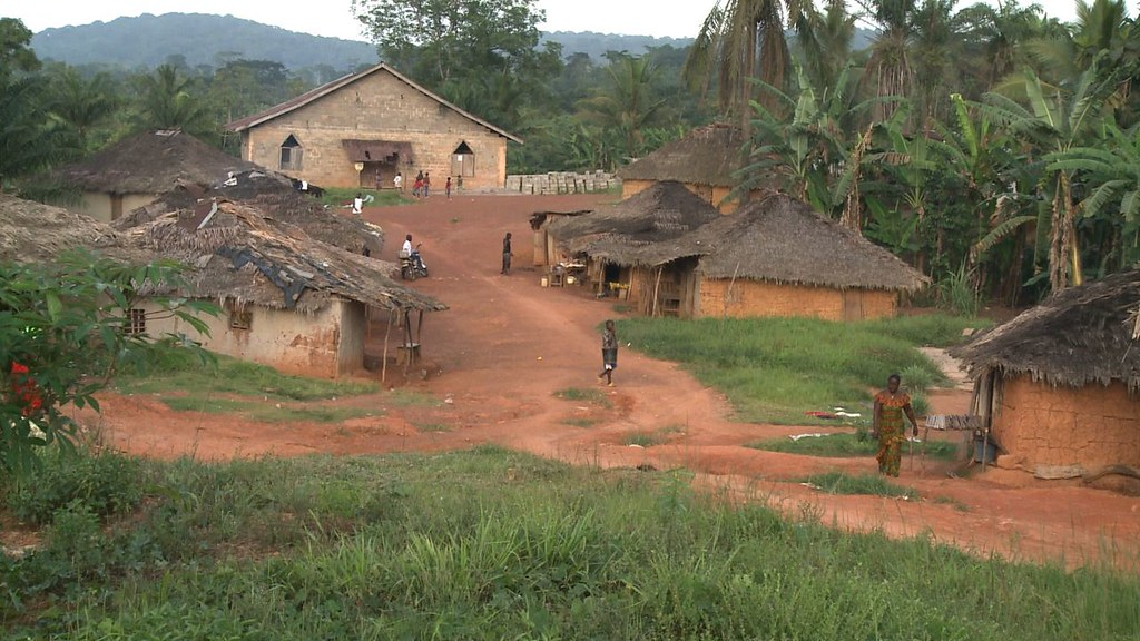 Liberian Village of Pleebo