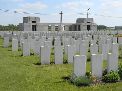 Passendale: Passchendaele New British Cemetery (West-Vlaanderen)