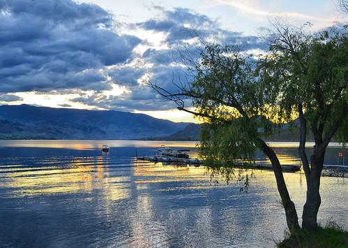 sunset lake canada osoyosslake osoyoss canada2013