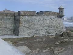 """Forte de São Francisco Xavier ou """"Castelo do Queijo"""" no Porto"""
