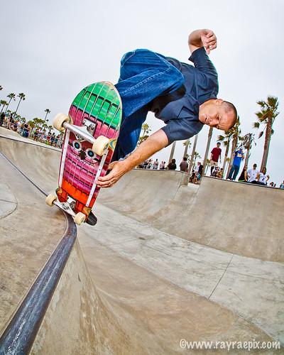 Dave Fowler 7-7-13 Venice Skate Park