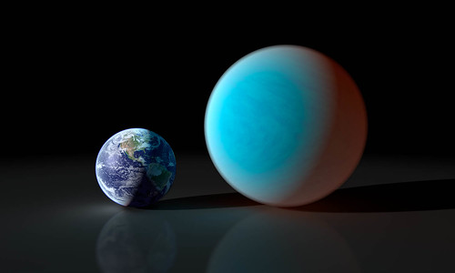 Earth and Super-Earth
