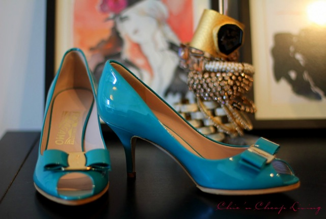 Ferragamo Ribes full view with pictures by Chic n Cheap Living