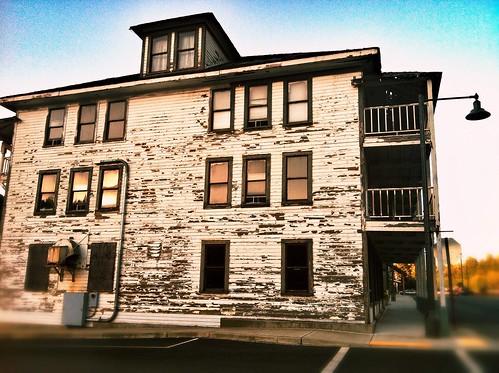 Old Skykomish hotel for sale.