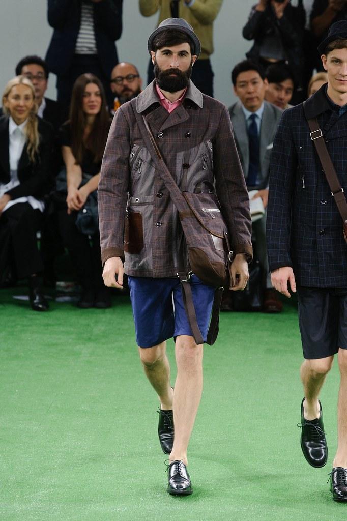 SS14 Paris Junya Watanabe013_Benjamin Dukhan(fashionising.com)