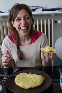 María and a Spanish Omelette