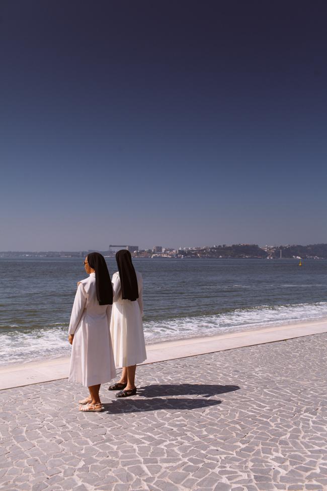 Lisbon nuns river front