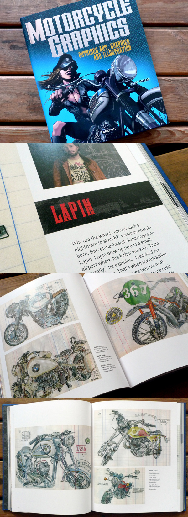 """motorcycle graphics"" book"