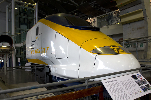 Eurostar Mockup